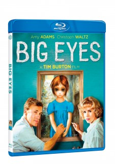 BD obal filmu Big Eyes / Big Eyes