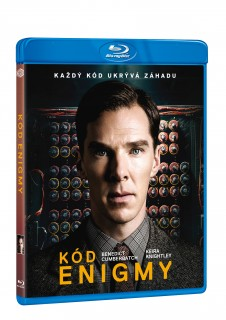 BD obal filmu Kód Enigmy / The Imitation Game