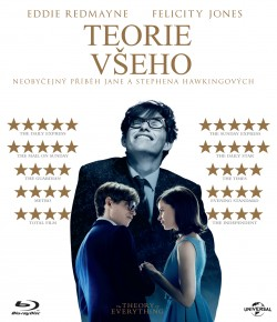 BD obal filmu Teorie všeho / The Theory of Everything