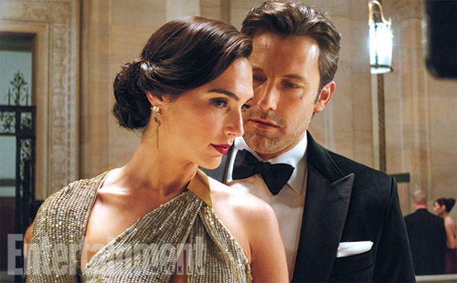 Ben Affleck, Gal Gadot ve filmu Batman v Superman: Úsvit spravedlnosti / Batman v Superman: Dawn of Justice