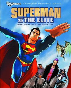 Plakát filmu Superman vs. Elita / Superman vs. The Elite