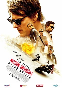 Český plakát filmu Mission: Impossible - Národ grázlů / Mission: Impossible - Rogue Nation