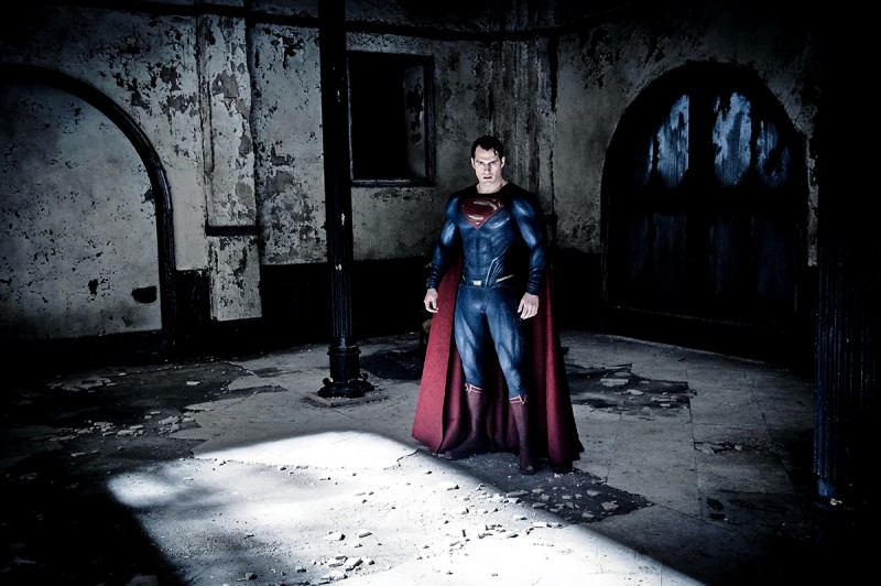 Henry Cavill ve filmu Batman vs. Superman: Úsvit spravedlnosti /  Batman v Superman: Dawn of Justice