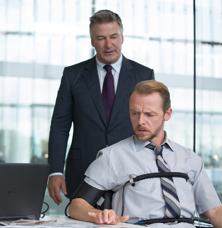 Alec Baldwin, Simon Pegg ve filmu Mission: Impossible - Národ grázlů / Mission: Impossible - Rogue Nation