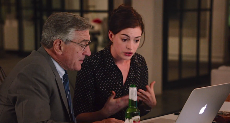 Anne Hathaway, Robert De Niro ve filmu Stážista / The Intern