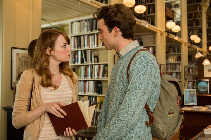 Emma Stone, Jamie Blackley ve filmu Iracionální muž / Irrational Man