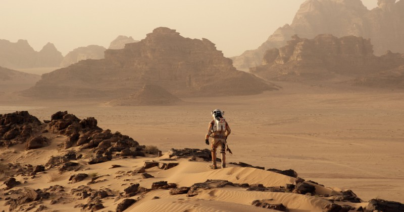 Matt Damon ve filmu Marťan / The Martian