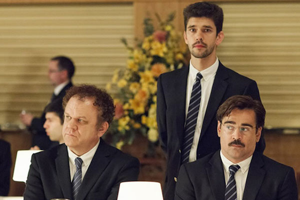 John C. Reilly, Ben Whishaw, Colin Farrell ve filmu Humr / The Lobster