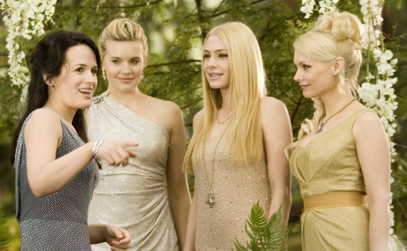 Elizabeth Reaser, Maggie Grace, Andrea Powell, MyAnna Buring ve filmu Twilight Saga: Rozbřesk - 2. část / The Twilight Saga: Breaking Dawn - Part 2