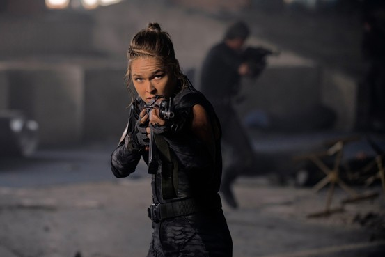Ronda Rousey ve filmu Expendables: Postradatelní 3 / The Expendables 3