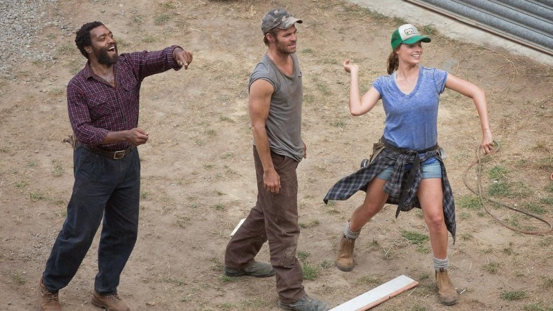 Chiwetel Ejiofor, Chris Pine, Margot Robbie ve filmu  / Z for Zachariah