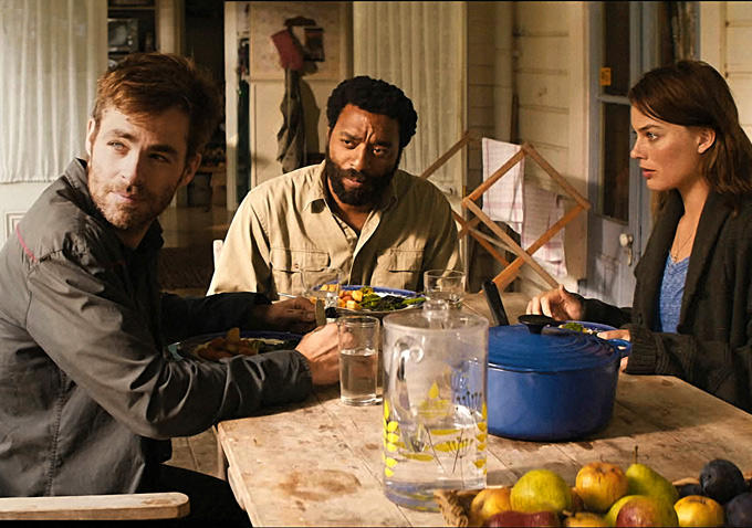 Chris Pine, Chiwetel Ejiofor, Margot Robbie ve filmu  / Z for Zachariah