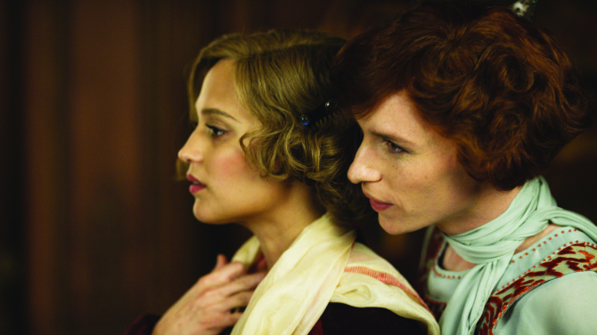 Alicia Vikander, Eddie Redmayne ve filmu Dánská dívka / The Danish Girl
