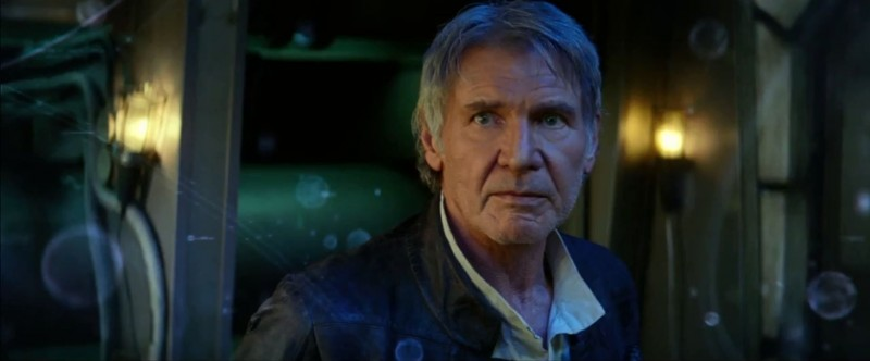 Harrison Ford ve filmu Star Wars: Síla se probouzí / Star Wars: The Force Awakens