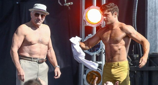 Robert De Niro, Zac Efron ve filmu  / Dirty Grandpa