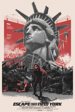 Plakát filmu Útěk z New Yorku / Escape from New York