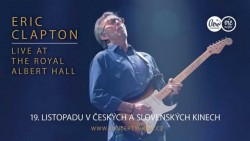 Český plakát filmu Eric Clapton: Live at the Royal Albert Hall / Eric Clapton - Live at the Royal Albert Hall