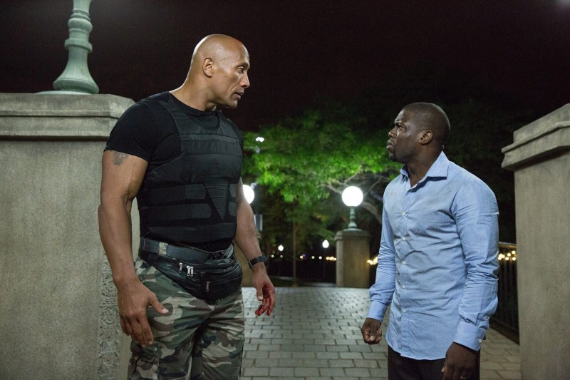 Dwayne Johnson, Kevin Hart ve filmu Centrální inteligence / Central Intelligence