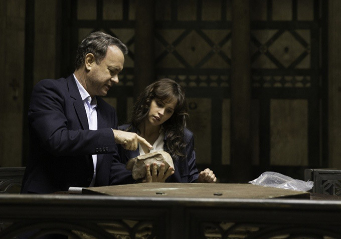 Tom Hanks, Felicity Jones ve filmu  / Inferno