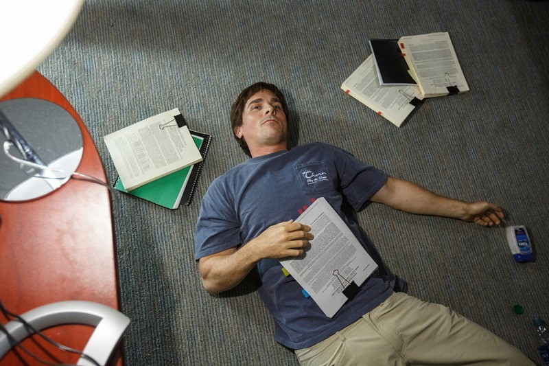 Christian Bale ve filmu Sázka na nejistotu / The Big Short