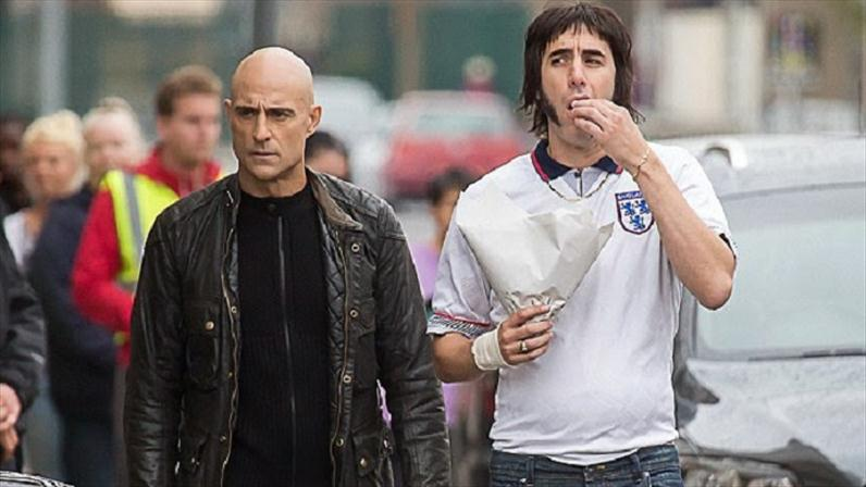 Mark Strong, Sacha Baron Cohen ve filmu  / Grimsby