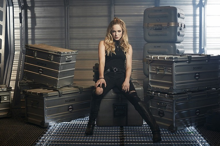 Caity Lotz ve filmu  / Legends of Tomorrow