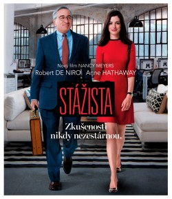 BD obal filmu Stážista / The Intern