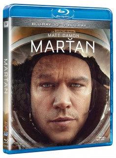 BD obal filmu Marťan / The Martian