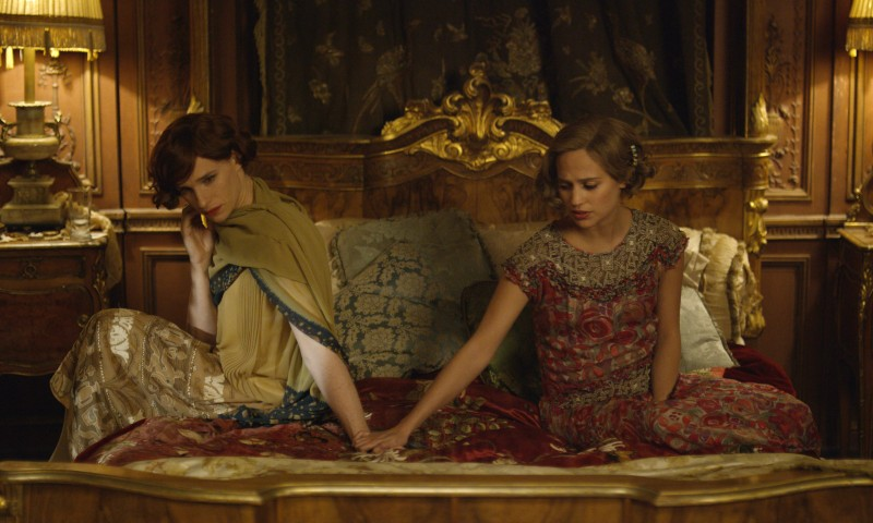 Eddie Redmayne, Alicia Vikander ve filmu Dánská dívka / The Danish Girl