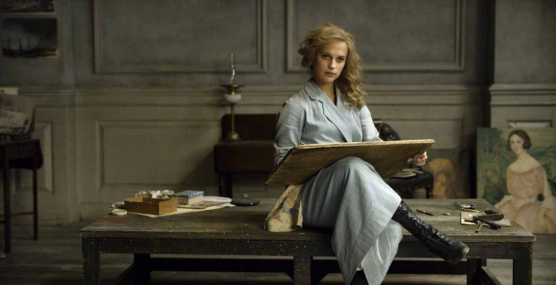 Alicia Vikander ve filmu Dánská dívka / The Danish Girl