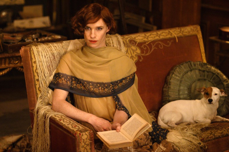 Eddie Redmayne ve filmu Dánská dívka / The Danish Girl
