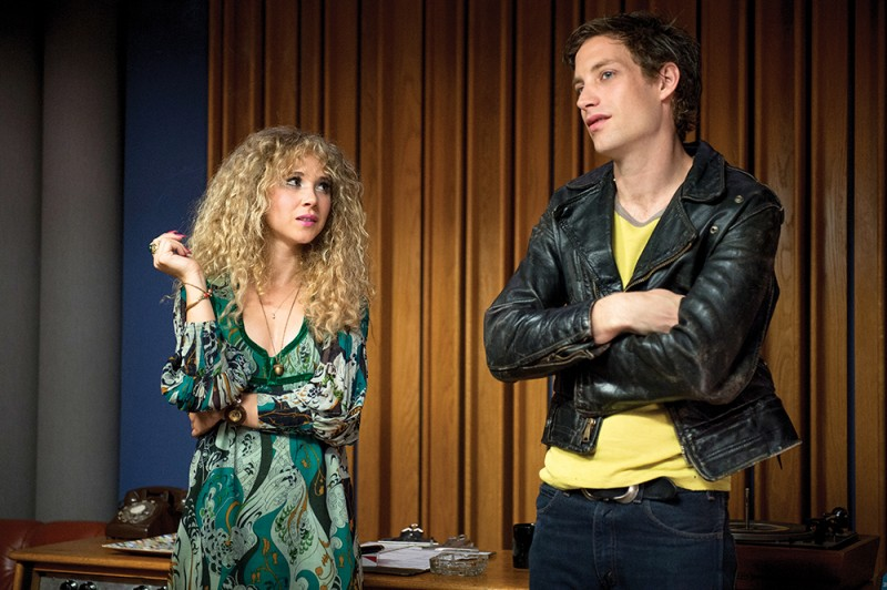 Juno Temple, James Jagger ve filmu  / Vinyl