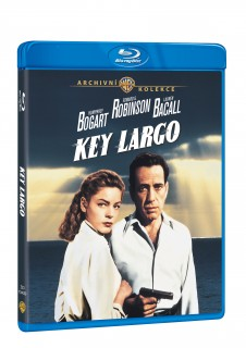 BD obal filmu  / Key Largo
