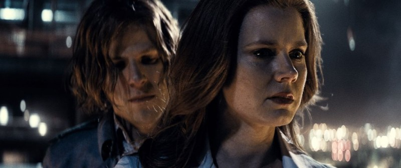 Jesse Eisenberg, Amy Adams ve filmu Batman v Superman: Úsvit spravedlnosti / Batman v Superman: Dawn of Justice