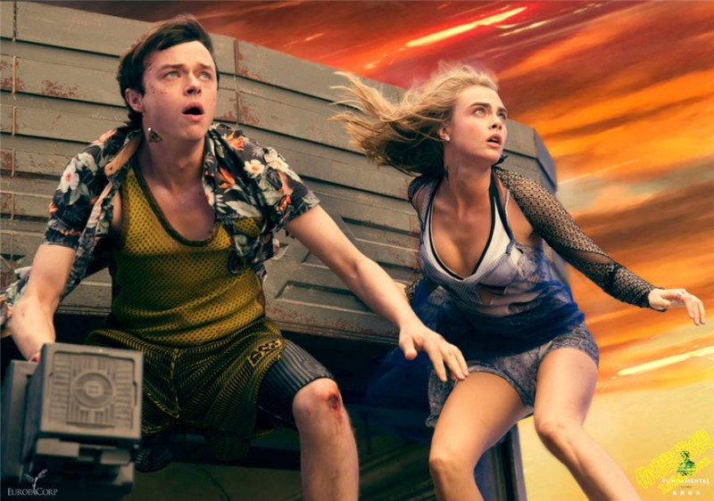 Cara Delevingne, Dane DeHaan ve filmu Valerian a město tisíce planet / Valerian and the City of a Thousand Planets