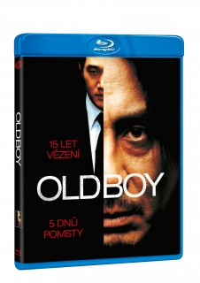 BD obal filmu Old Boy / Oldeuboi