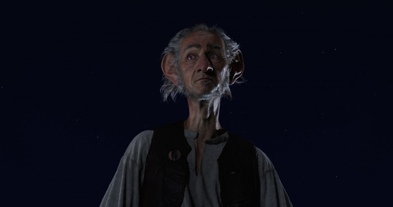 Mark Rylance ve filmu Obr Dobr / The BFG