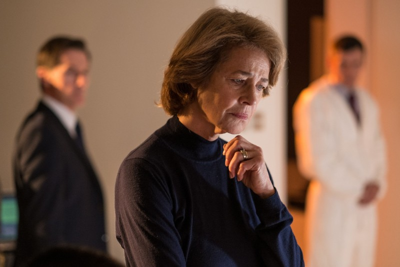Charlotte Rampling ve filmu  / London Spy