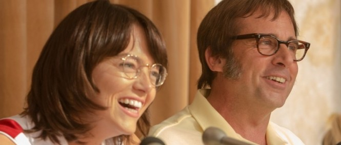 Emma Stone a Steve Carell vedou Battle of the Sexes v traileru