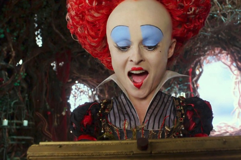 Helena Bonham Carter ve filmu Alenka v říši divů: Za zrcadlem / Alice Through the Looking Glass
