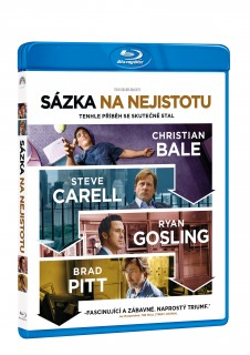 BD obal filmu Sázka na nejistotu / The Big Short