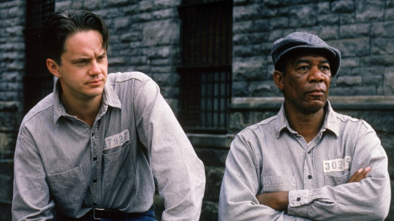 Tim Robbins, Morgan Freeman ve filmu Vykoupení z věznice Shawshank / The Shawshank Redemption