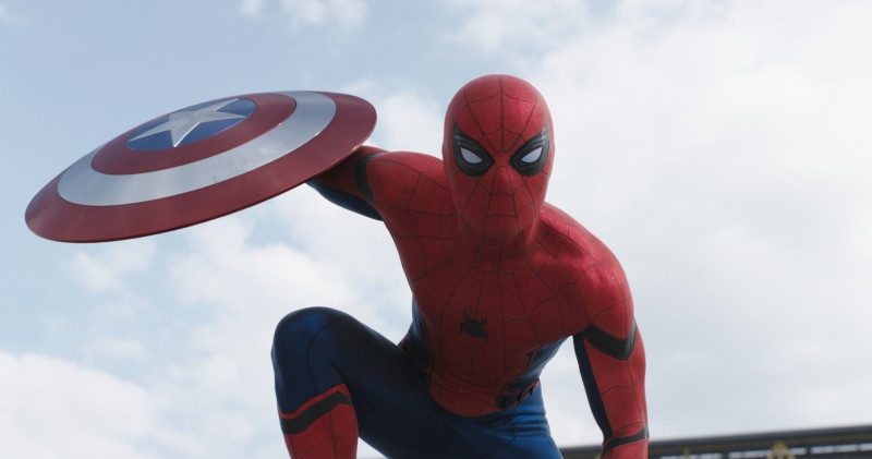 Tom Holland ve filmu Captain America: Občanská válka / Captain America: Civil War