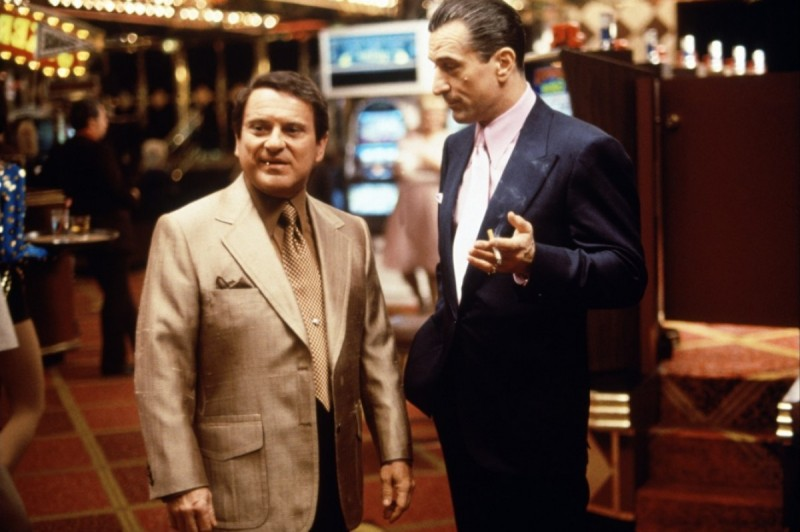 Robert De Niro, Joe Pesci ve filmu  / Casino