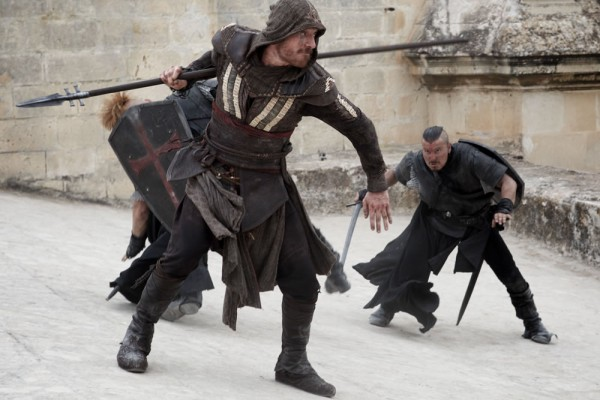Michael Fassbender ve filmu Assassin's Creed / Assassin's Creed