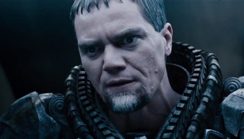 Michael Shannon ve filmu Muž z oceli / Man of Steel