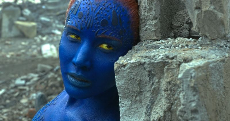 Jennifer Lawrence ve filmu X-Men: Apokalypsa / X-Men: Apocalypse