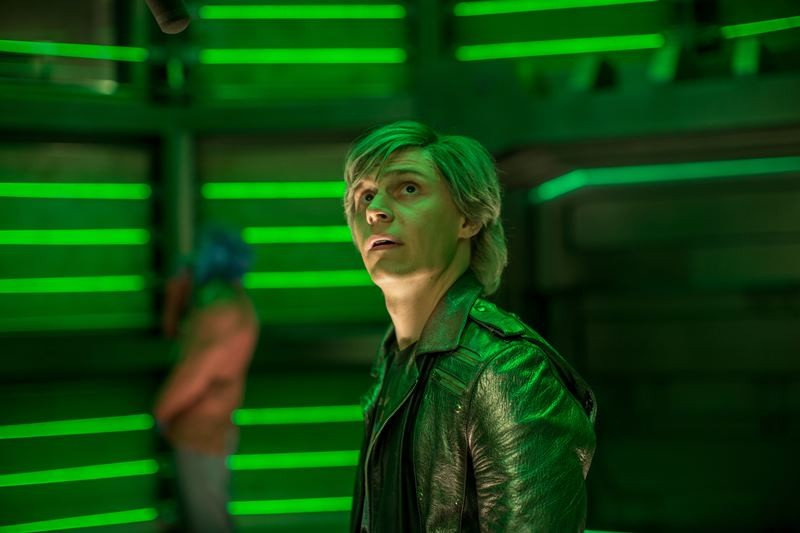 Evan Peters ve filmu X-Men: Apokalypsa / X-Men: Apocalypse