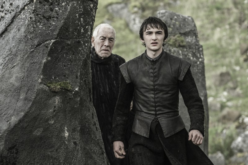 Max von Sydow, Isaac Hempstead Wright ve filmu Hra o trůny / Game of Thrones