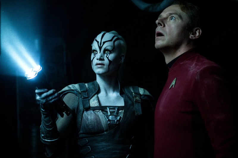 Sofia Boutella, Simon Pegg ve filmu Star Trek: Do neznáma / Star Trek Beyond